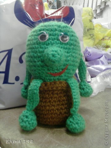 связала в подарок одной знакомой любительнице кактусов