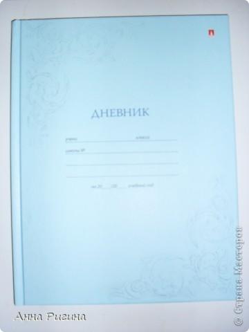 Вот такой дневник получился у меня в итоге фото 4