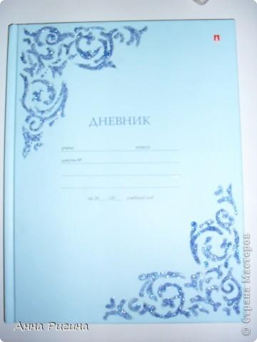 Вот такой дневник получился у меня в итоге фото 8