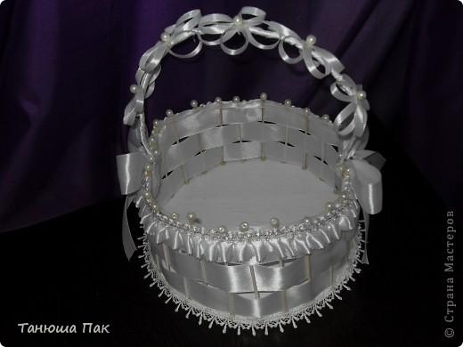 эта корзина для лепестков роз) ну или для конкурсов разных на свадьбу) вобщем кому как нравиться)  фото 4