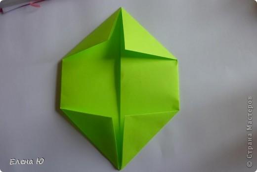 Камптозавр - оригами фото 5