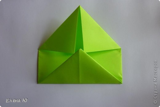 Камптозавр - оригами фото 7