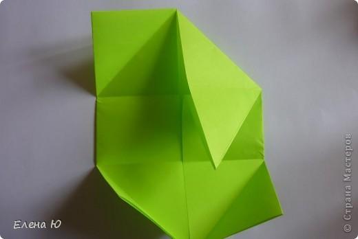 Камптозавр - оригами фото 8