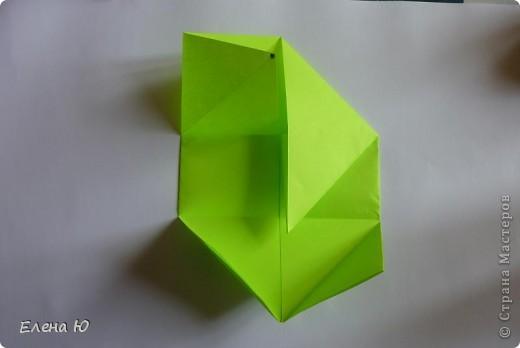 Камптозавр - оригами фото 9