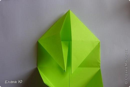 Камптозавр - оригами фото 10