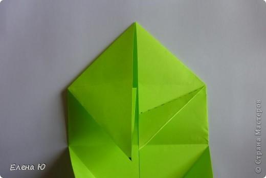 Камптозавр - оригами фото 11