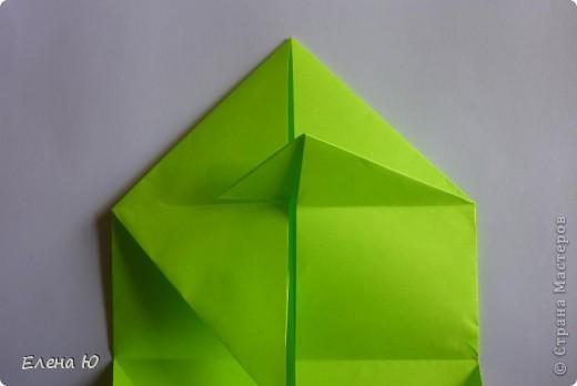Камптозавр - оригами фото 12