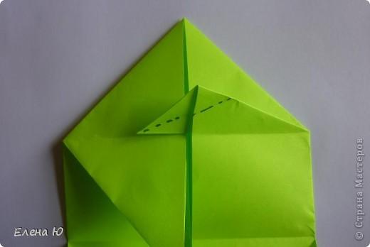 Камптозавр - оригами фото 13