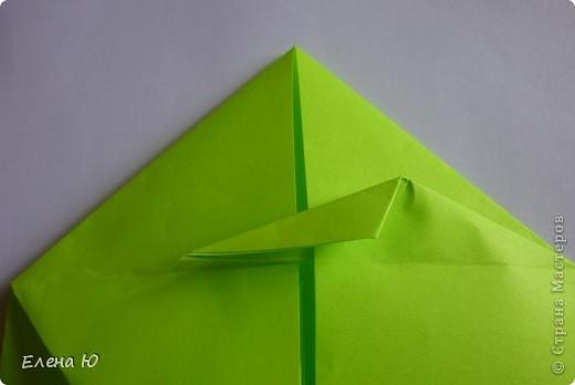 Камптозавр - оригами фото 14