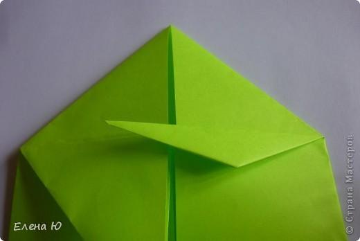 Камптозавр - оригами фото 15
