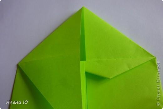 Камптозавр - оригами фото 16