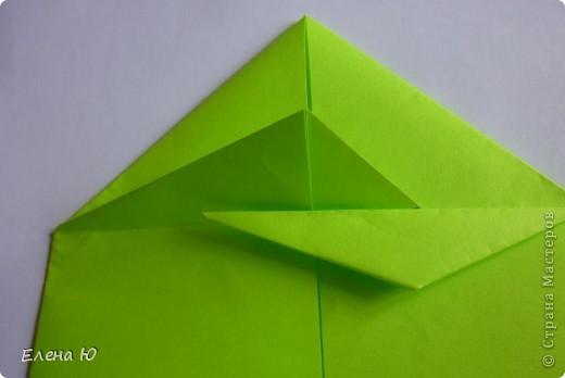 Камптозавр - оригами фото 18