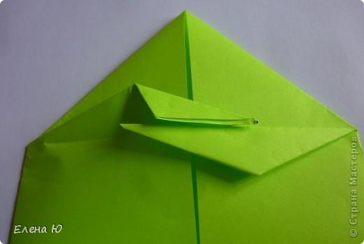 Камптозавр - оригами фото 19