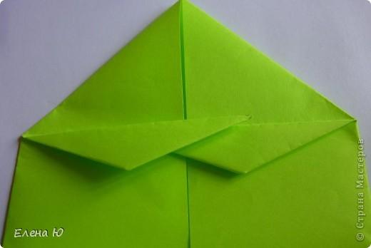 Камптозавр - оригами фото 20