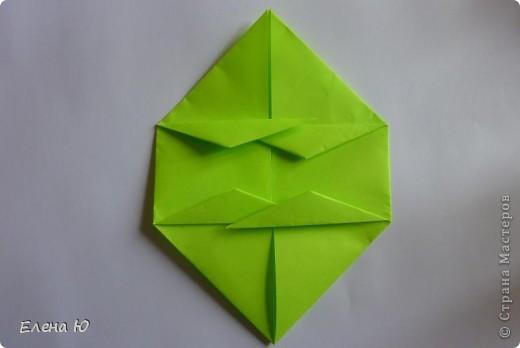 Камптозавр - оригами фото 21