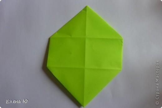 Камптозавр - оригами фото 22