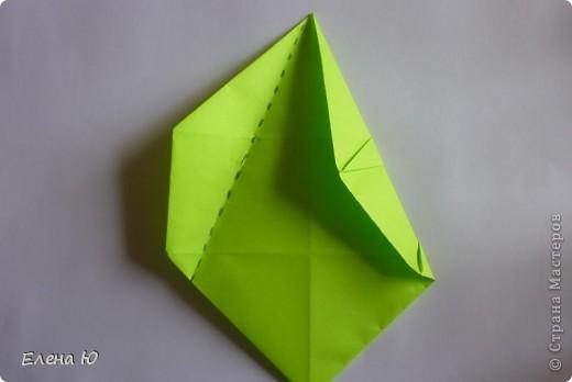 Камптозавр - оригами фото 23