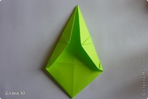 Камптозавр - оригами фото 24