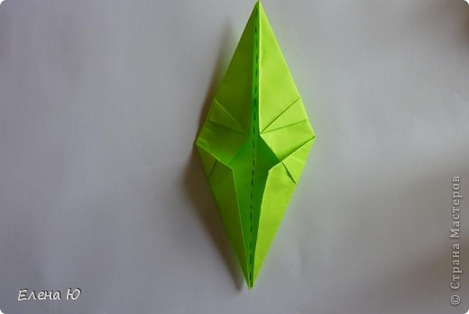 Камптозавр - оригами фото 26