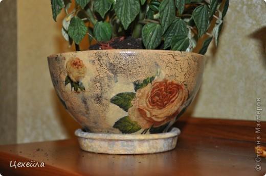 Дом для цветка в античном стиле:) фото 3