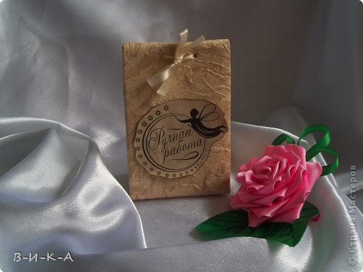 Упаковка для канзаши+ надписи (ручная работа ) фото 4