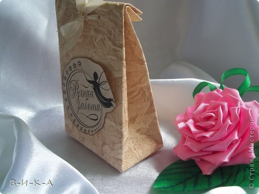 Упаковка для канзаши+ надписи (ручная работа ) фото 2
