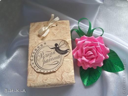 Упаковка для канзаши+ надписи (ручная работа ) фото 1
