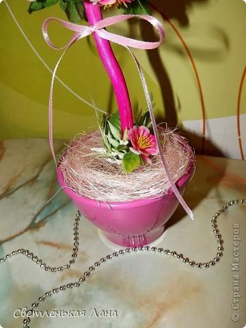 Приветствую всех гостей у себя на страничке!!! Хочу показать вам мое новое деревцо, которое выросло к празднику, дню рождения моей подруги.  фото 4
