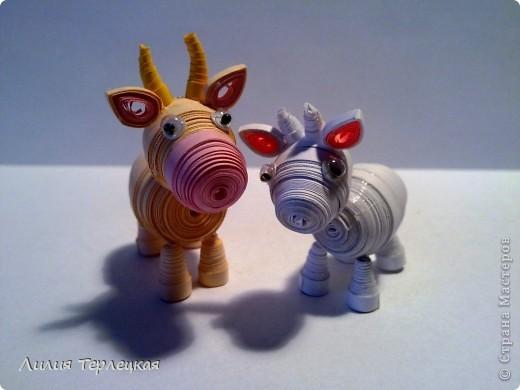 3D Животные из бумаги фото 4