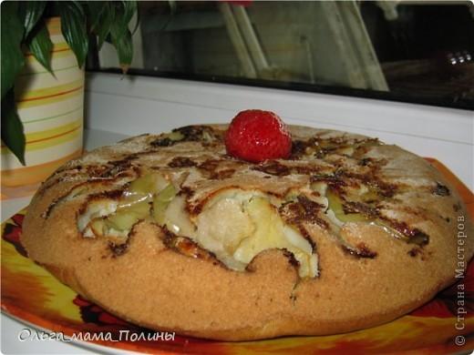рецепт не классический, поскольку тесто сделанное из белого хлеба , как принято готовить данный пирог, мои домочадцы не едят. фото 2