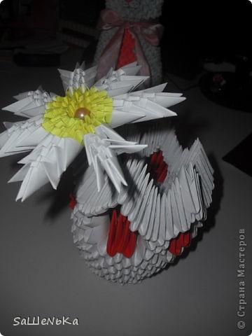 Кот,ромашка и ваза. фото 2