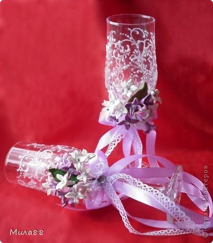 """На этот раз решила перейти к цветам поменьше))) Вот такой букетик у меня получился, только в реальности цвет немного другой: розовые, сиреневые и белые цветочки. Сделала их """"на стебельках"""", поэтому они (когда притрагиваешься к ним) слегка покачиваются))) фото 1"""