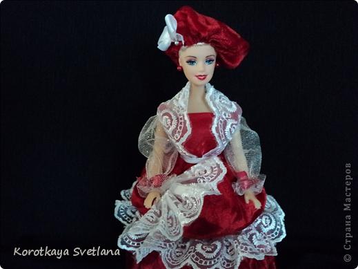 Вот и очередная кукла-шкатулка для выставки. фото 8