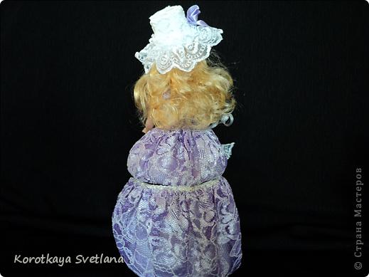 Вот и очередная кукла-шкатулка для выставки. фото 4