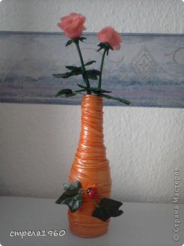 подарки к празднику-крещения для сестёр,за  вечер сделала 7 вазочек, такое было настроение фото 1