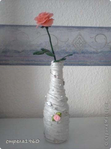 подарки к празднику-крещения для сестёр,за  вечер сделала 7 вазочек, такое было настроение фото 2