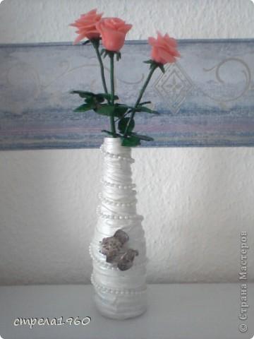 подарки к празднику-крещения для сестёр,за  вечер сделала 7 вазочек, такое было настроение фото 3