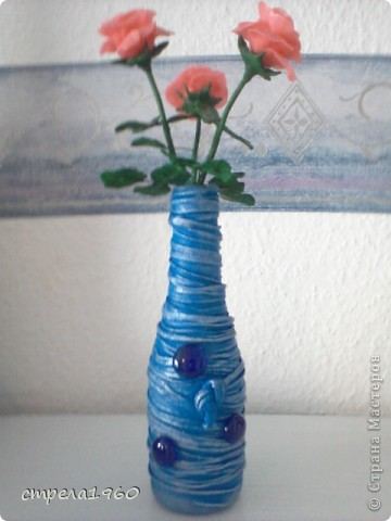 подарки к празднику-крещения для сестёр,за  вечер сделала 7 вазочек, такое было настроение фото 5