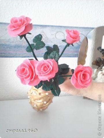 подарки к празднику-крещения для сестёр,за  вечер сделала 7 вазочек, такое было настроение фото 7