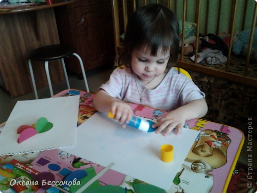 Здравствуйте соседи страны Мастеров. Представляю Вашему вниманию продолжение работ с дочерью за пол года. Снеговик. фото 2