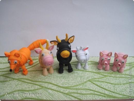 3D Животные из бумаги фото 1