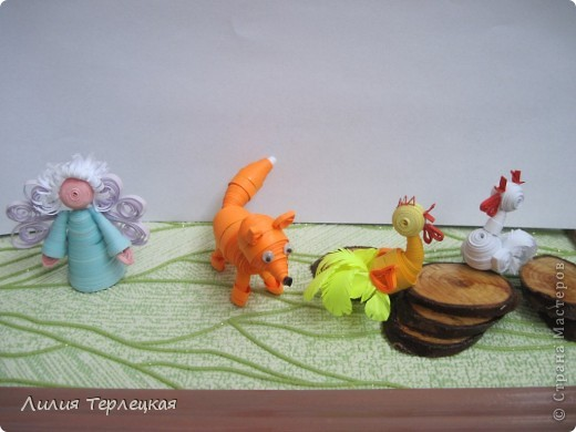 3D Животные из бумаги фото 2