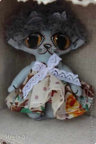 Домовёнок Кузенька , кошечка и мишутка -)))  фото 3