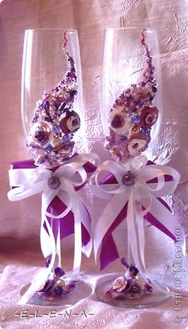 Набор в фиолетово-лиловых тонах фото 1