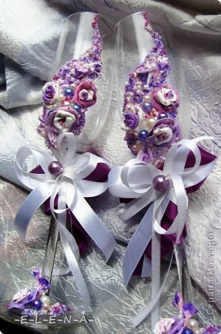 Набор в фиолетово-лиловых тонах фото 2