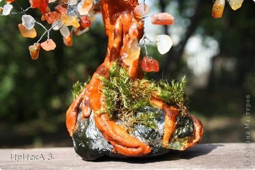 Вот и появилось у меня такое деревце из камешков. Работала с ними впервые. Выношу на ваш суд. фото 3