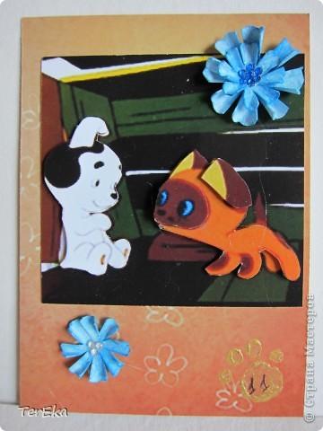 Посмотрела на работы Мастеров и Мастериц и мне тоже очень захотелось создавать карточки АТС. Вот моя первая серия. Создавала после прочтения статьи Викторички (СПАСИБО ВАМ ОГРОМНОЕ!!!), поэтому надеюсь, что все правильно...  фото 12