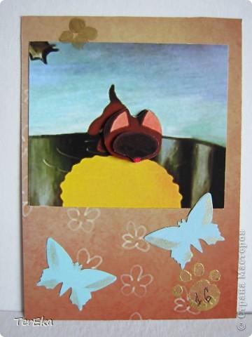 Посмотрела на работы Мастеров и Мастериц и мне тоже очень захотелось создавать карточки АТС. Вот моя первая серия. Создавала после прочтения статьи Викторички (СПАСИБО ВАМ ОГРОМНОЕ!!!), поэтому надеюсь, что все правильно...  фото 17