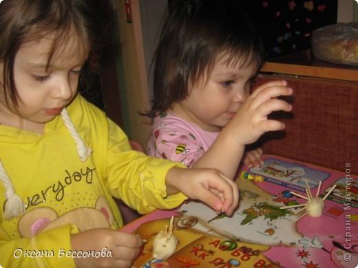 Здравствуйте соседи страны Мастеров. Представляю Вашему вниманию продолжение работ с дочерью за пол года. Снеговик. фото 8
