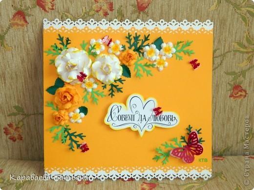 Свадебная открытка. фото 17